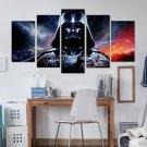 Star Wars 5 Piece Wall Art Canvas Prints (20X30cm,20X40cm,20X50cm)