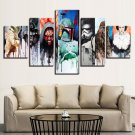 Star Wars Nice Mix 5 Piece Wall Art Canvas Prints (20x35cm,20x45cm,20x55cm)