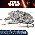 Star Wars series Millennium Space Ship Building Block Toys for Gift