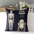 Star Wars  #26 Cartoon Cushion Cover Case (45cm * 45cm)