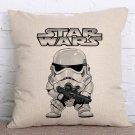 Star Wars #54 Cartoon Cushion Cover Case (45cm * 45cm)
