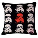 Star Wars #60 Cartoon  Cotton Linen Cushion Cover Case 18 INCH