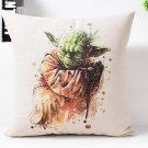 Star Wars  #70 Cartoon Cushion Cover Case (45cm * 45cm)