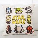 Star Wars #81 Cartoon Cushion Cover Case (45cm * 45cm)