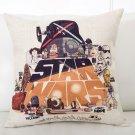 Star Wars #83 Cartoon Cushion Cover Case (45cm * 45cm)