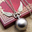 Harry Potter #13 Golden Wings Necklace & Pendants Jewelry Harry Potter Movie