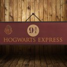 72x24cm Harry Potter Movie Vintage Paper Decoration Poster Wall Stickers