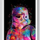 "Star Wars "" Soldier"" Art Canvas Poster Home Bedroom Decoration (13x20cm) No Frame)"