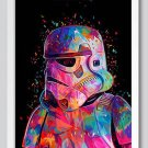 """Star Wars """" Soldier"""" Art Canvas Poster Home Bedroom Decoration (A4 21x30cm) No Frame)"""