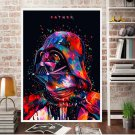 """Star Wars """" Father"""" Art Canvas Poster Home Bedroom Decoration (A4 21x30cm) No Frame)"""