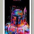 """Star Wars """" Hunter"""" Art Canvas Poster Home Bedroom Decoration (50x75cm) No Frame)"""