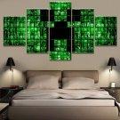 Minecraft 5 Piece Wall Art Canvas Prints (30x40cm,30x60cm,30x80cm) WITH FRAME