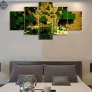 Minecraft 5 Piece Wall Art Canvas Prints (10x15cm,  10x20cm, 10x25cm) (no frame)