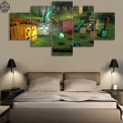 Minecraft 5 Piece Wall Art Canvas Prints (20x35cm,20x45cm,20x55cm) (no frame)