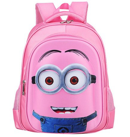Minions Children's Backpack #03 Primary Students School Backpack Small size