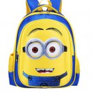 Minions Children's Backpack #02 Primary Students School Backpack Large size