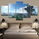 Minecraft 5 Piece Wall Art Canvas Prints 20x35cm,20x45cm,20x55cm (no frame)