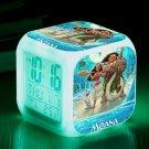 Moana Disney Cartoon #02 LED Alarm Clock for Gift