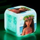 Moana Disney Cartoon #10 LED Alarm Clock for Gift