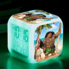 Moana Disney Cartoon #11 LED Alarm Clock for Gift