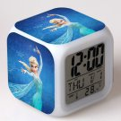 Anna and Elsa Frozen Disney #02 LED Alarm Clock for Gift