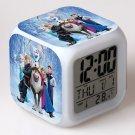Anna and Elsa Frozen Disney #05 LED Alarm Clock for Gift