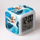 Anna and Elsa Frozen Disney #08 LED Alarm Clock for Gift