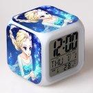 Anna and Elsa Frozen Disney #09 LED Alarm Clock for Gift