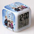 Anna and Elsa Frozen Disney #16 LED Alarm Clock for Gift