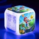 Super Mario Cartoon #02 LED Alarm Clock for Gift