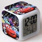 Lightning Mcqueen Cartoon #01 LED Alarm Clock for Gift