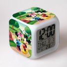 Mickey Mouse Disney #12 LED Alarm Clock for Gift