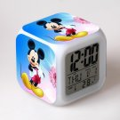 Mickey Mouse Disney #21 LED Alarm Clock for Gift