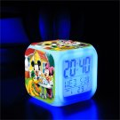 Mickey Mouse Disney #23 LED Alarm Clock for Gift