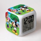 Mickey Mouse Disney #24 LED Alarm Clock for Gift
