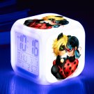 Miraculous Tales of Ladybug Cat Noir #04 LED Alarm Clock for Gift