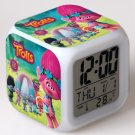 Trolls Cartoon #06 LED Alarm Clock for Gift