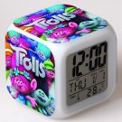 Trolls Cartoon #08 LED Alarm Clock for Gift