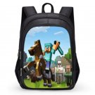 Minecraft #02 Girls Boys Students School Backpack 31*21*43 cm