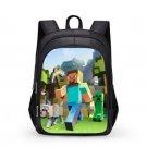 Minecraft #06 Girls Boys Students School Backpack 31*21*43 cm
