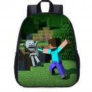 Minecraft #12 Girls Boys Students School Backpack L27.5*W10.5*H35cm