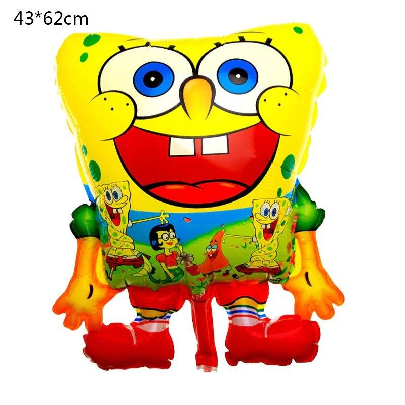 2019 #01 SpongeBob SquarePants aluminum Balloons Children's birthday party balloon decorations