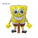 2019 #02 SpongeBob SquarePants aluminum Balloons Children's birthday party balloon decorations