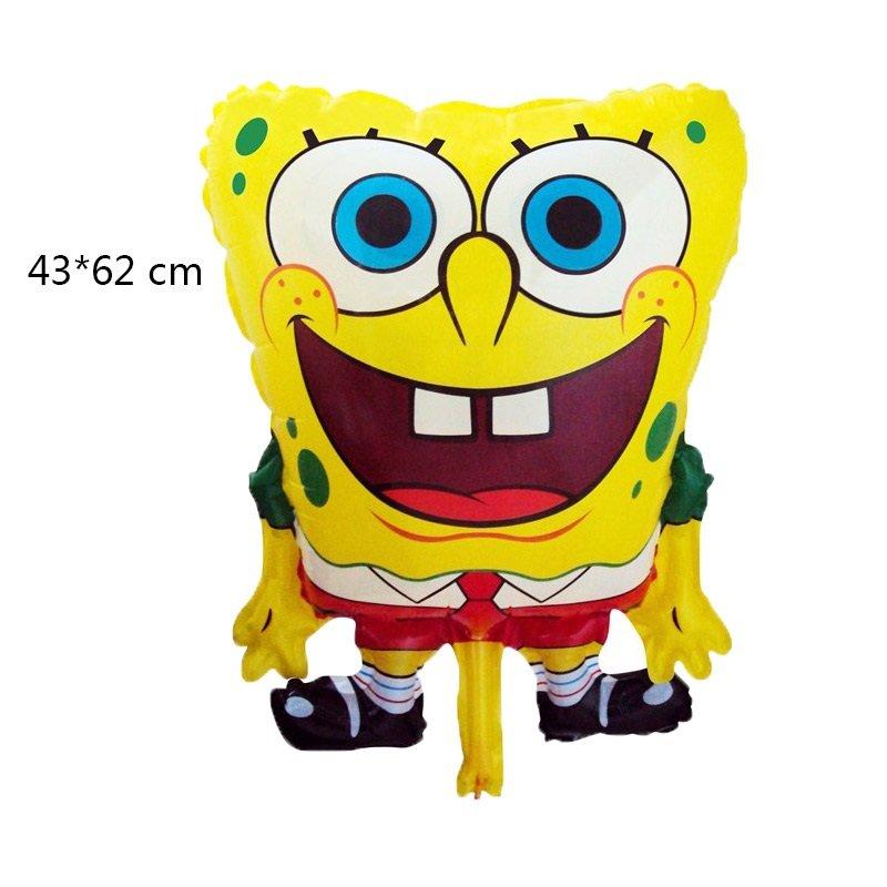 2019 #03 SpongeBob SquarePants aluminum Balloons Children's birthday party balloon decorations
