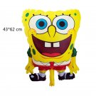 2019 #03 SpongeBob SquarePants aluminum Balloons Children's birthday party balloon decorations