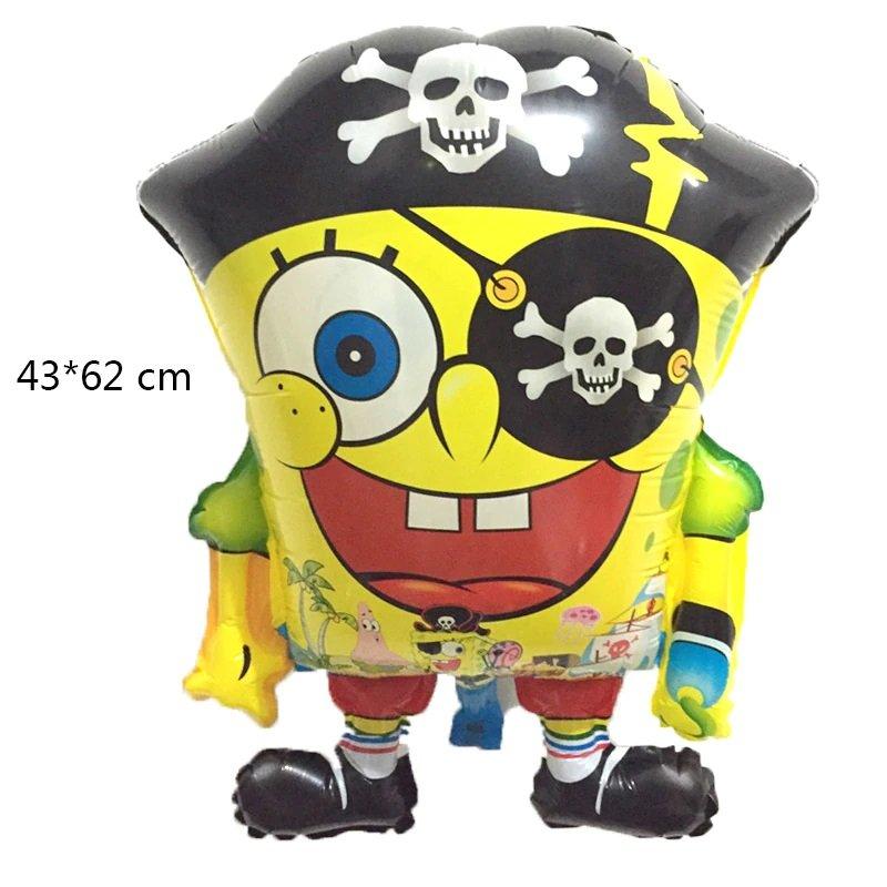 2019 #05 SpongeBob SquarePants aluminum Balloons Children's birthday party balloon decorations