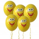 2019 #08 10pcs 12 inches SpongeBob Balloons Children's birthday party balloon decorations