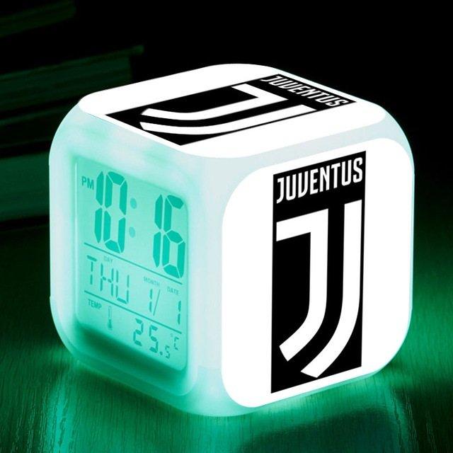 Juventus Football Club #02 LED Alarm Clock for Gift