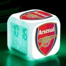 Arsenal football Club #10 LED Alarm Clock for Gift