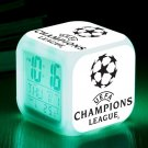 UEFA Champion League Football Club #11 LED Alarm Clock for Gift